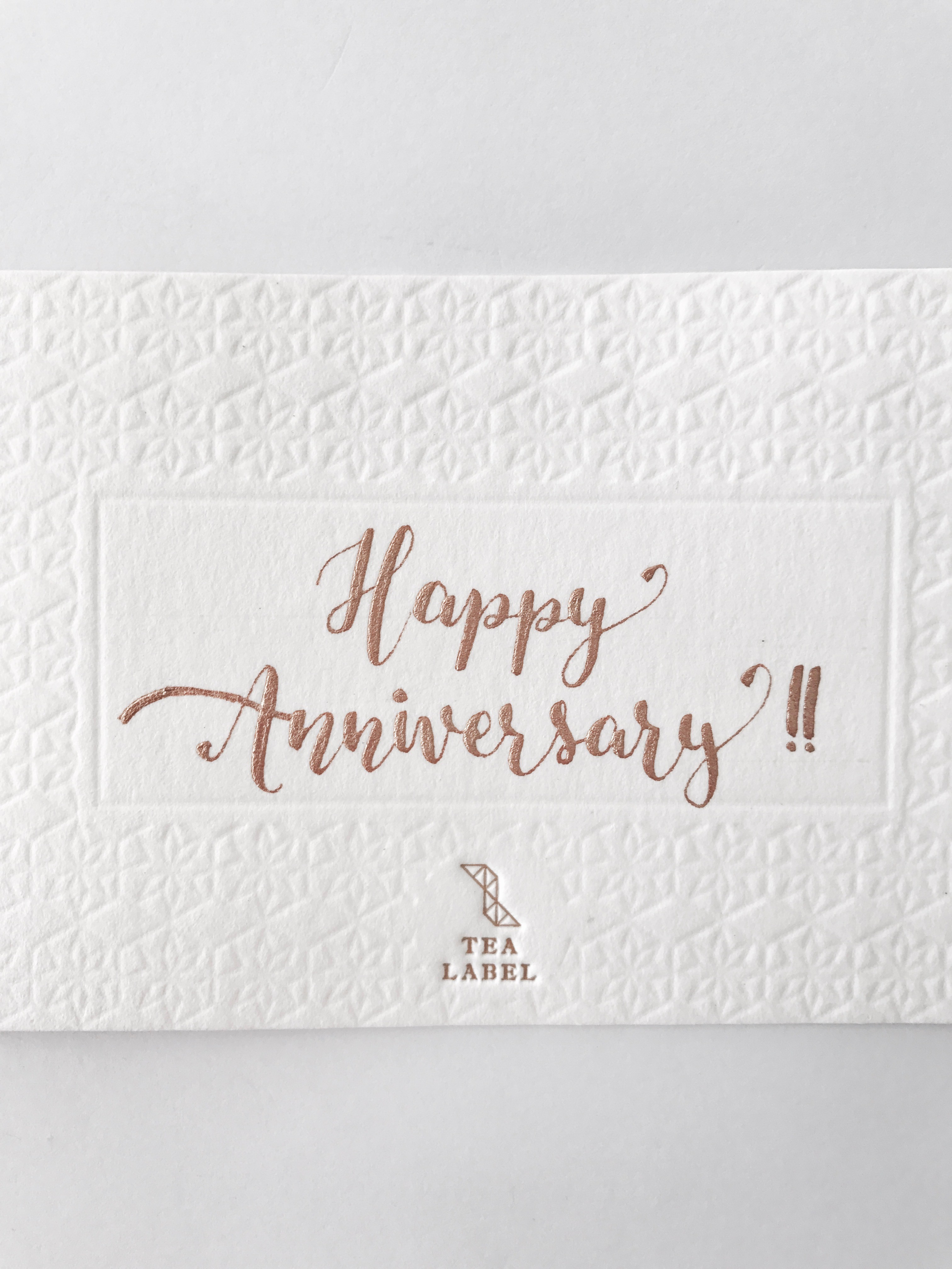 [Pre-Order] Happy Anniversary Card