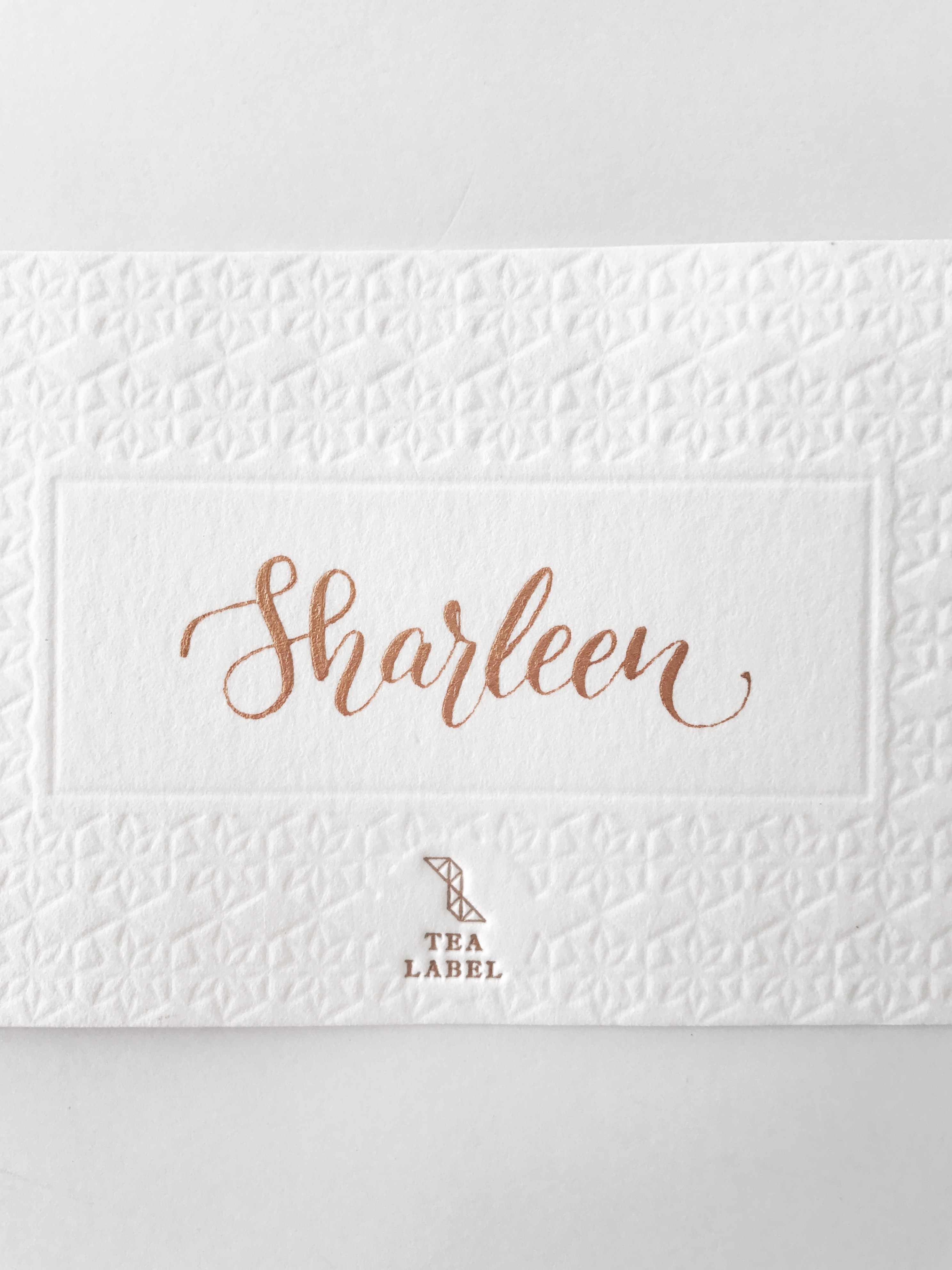 [Pre-Order] Personalized Name Card